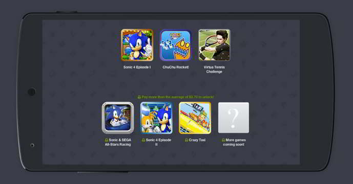 humble bundle sega android