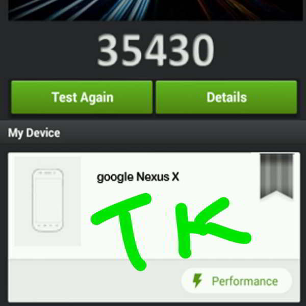 nexus x android benchmark