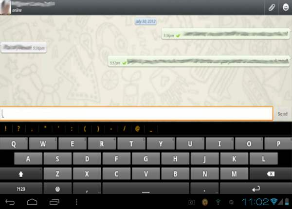 whatsapp tablets android