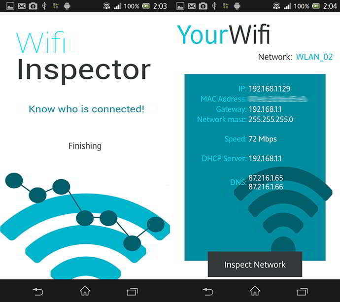 wifi inspector android