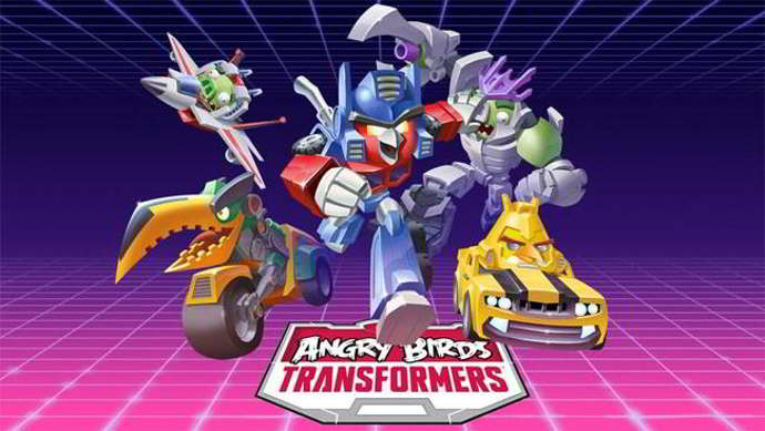 angry birds transformers android