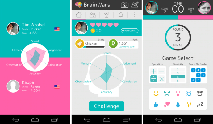 brain wars android
