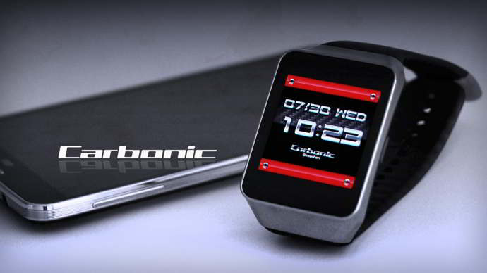 carbonic watchface android