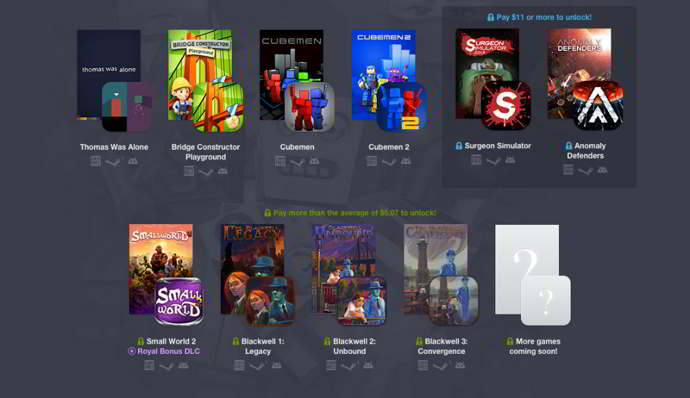 humble bundle 11 android pc