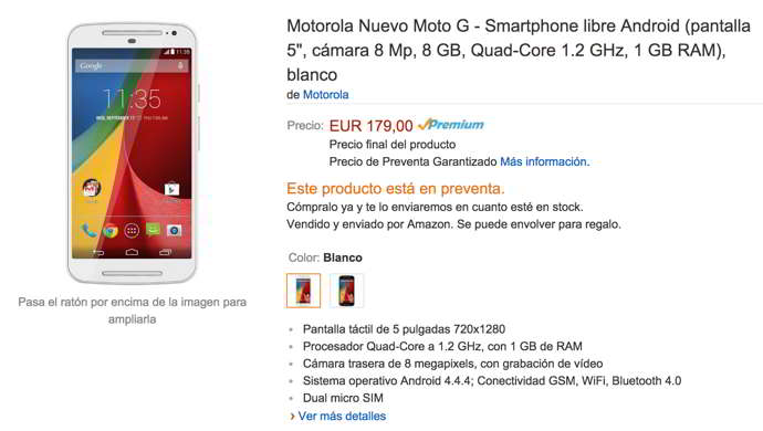 moto g 2014 android