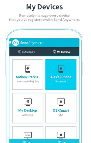 send anywhere app android