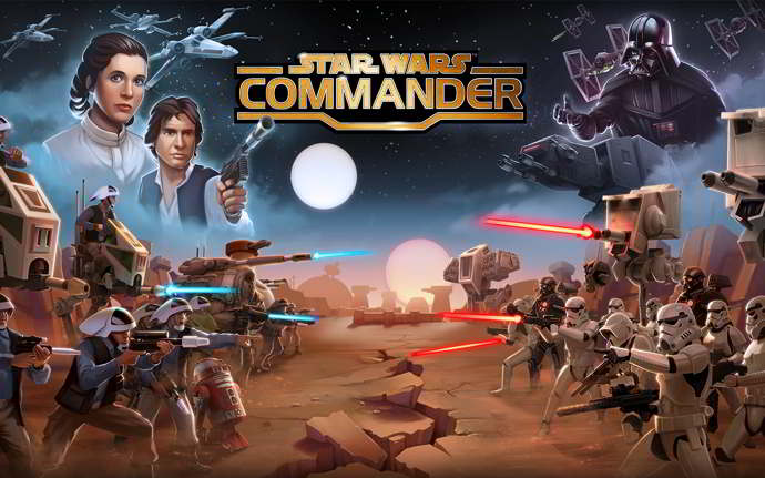 star wars commander android
