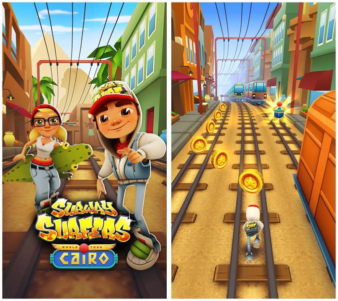 subway surfers el cairo android