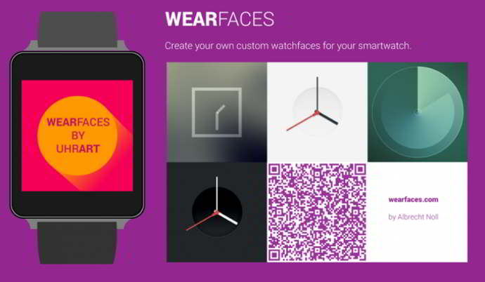 wearfaces - watchface creator android