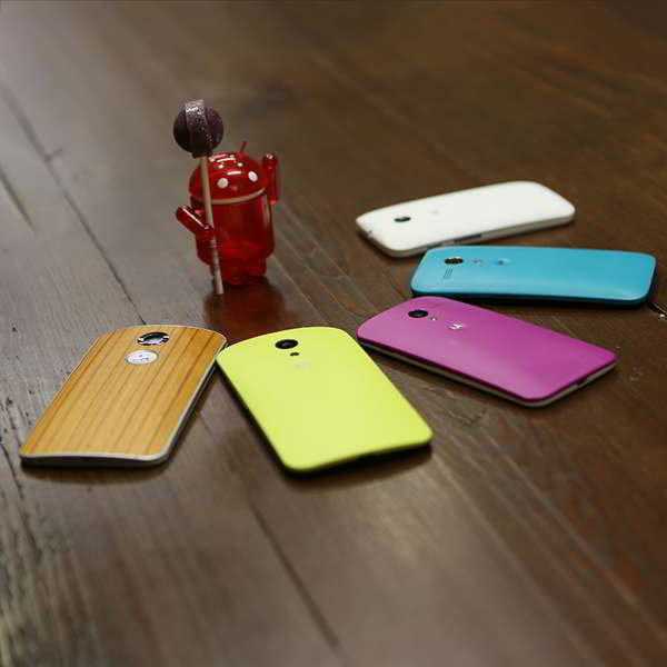 android 5.0 lollipop nexus moto g