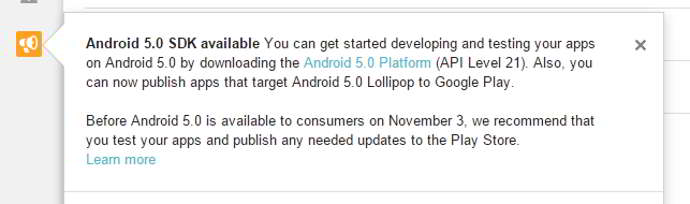 android 5.0 lollipop posible fecha