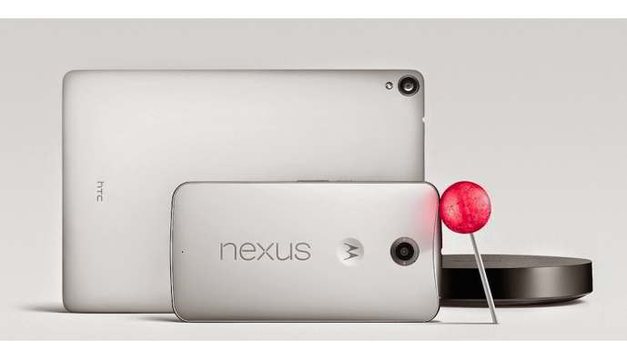 android lollipop nexus 6 nexus 9