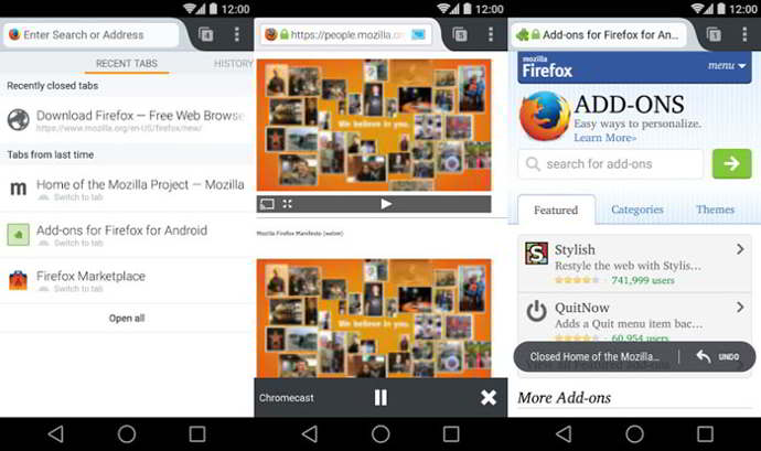 firefox v33 android