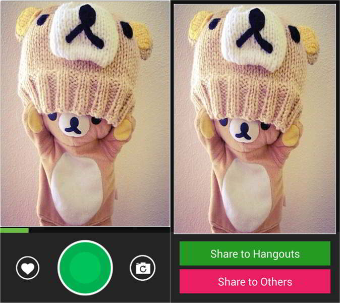 hangouts gif recorder android