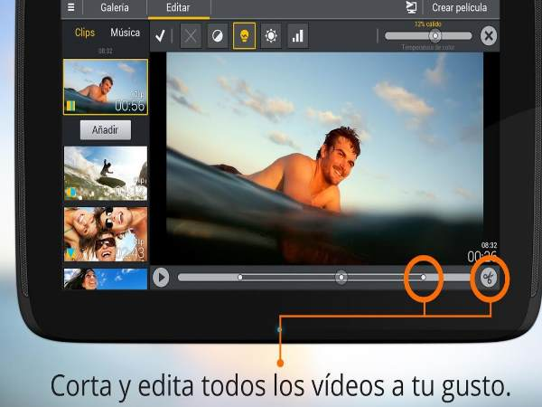 movie edit touch apk