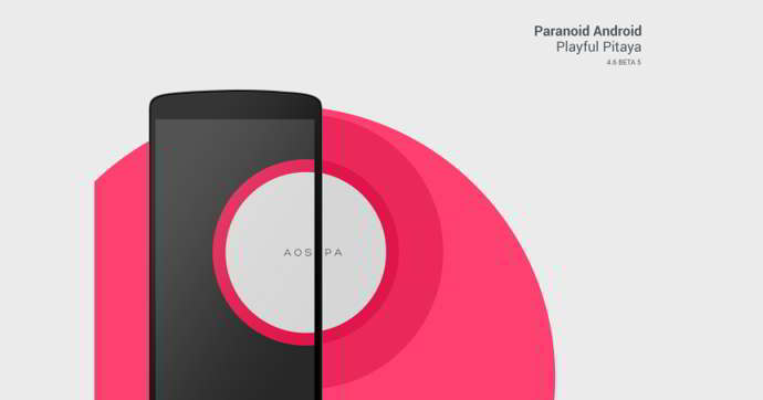 paranoid android 4.6 beta 5