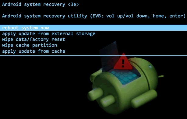 recovery stock android