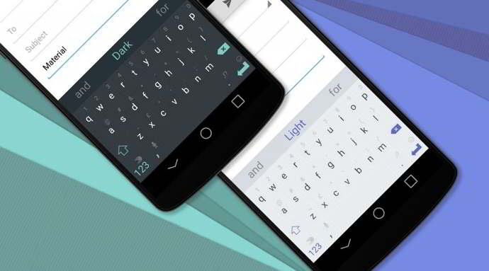 swiftkey material design temas android