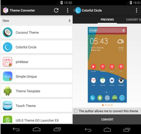 theme converter android