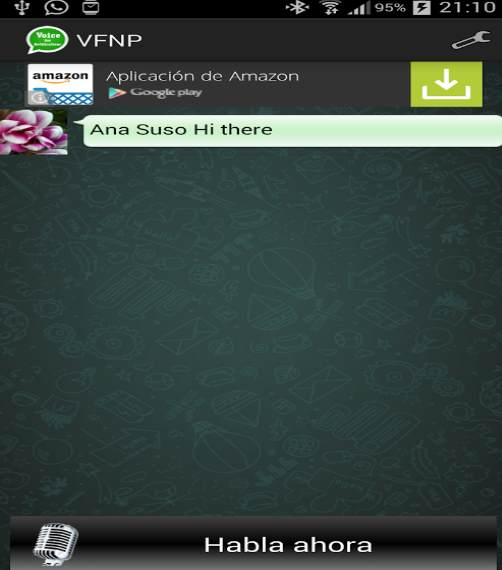 whatsapp voice for notifications