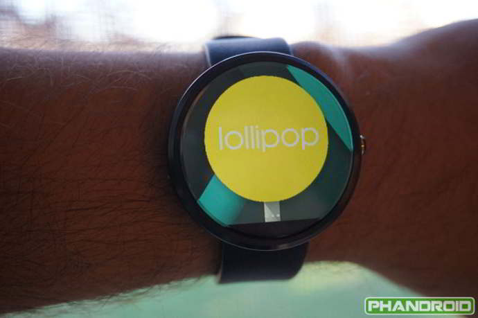 android wear android 5.0