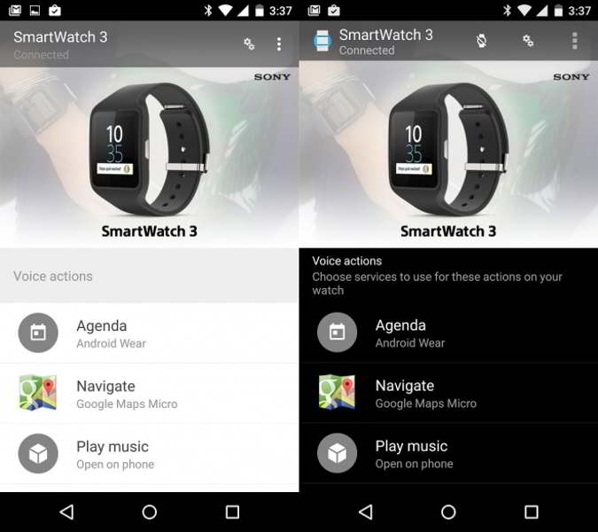 android wear v1.0.4