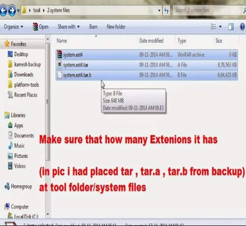 backup extesions cwm android