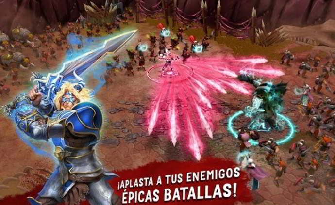 battle of heroes android