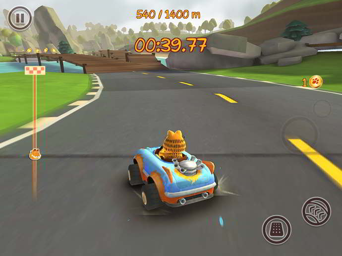 garfield kart fast & furry android