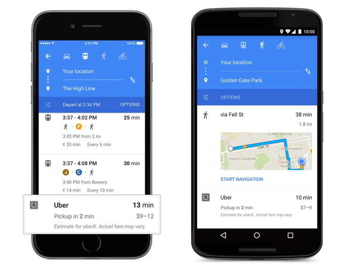 google maps material design android