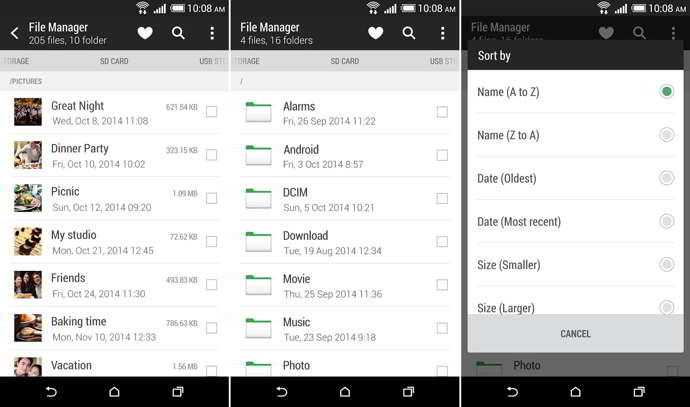 htc file manager android