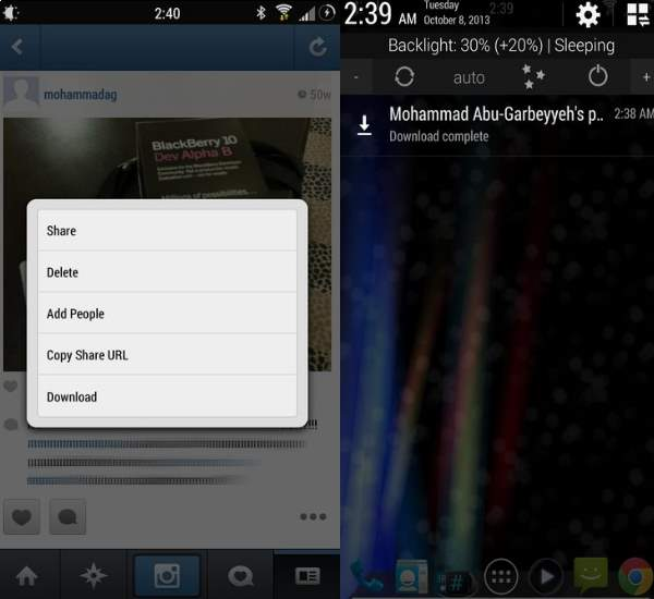 instagram downloader android
