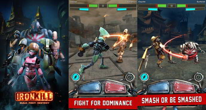 ironkill robot fighting game android