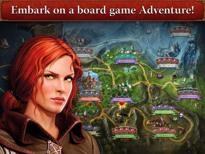 the witcher adventure game android