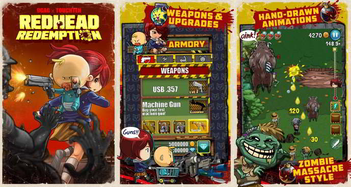 9gag redhead redemption android