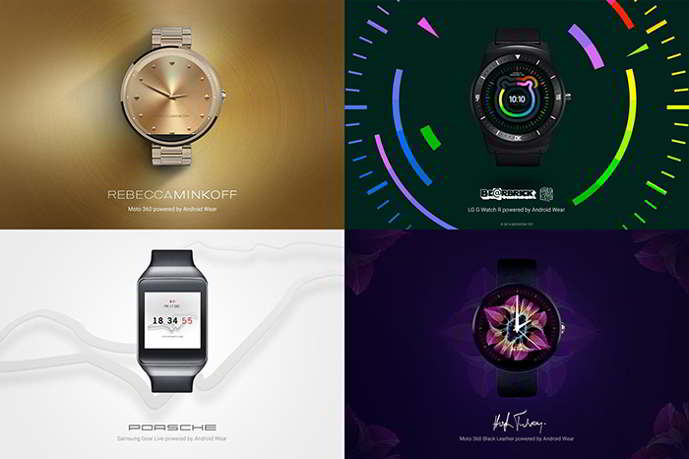android wear watch faces android