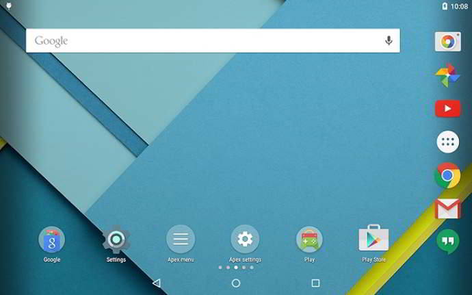 apex launcher v3.0 android