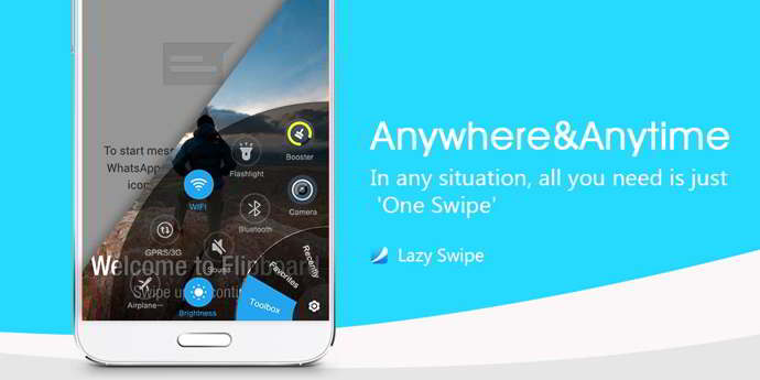 lazy swipe android