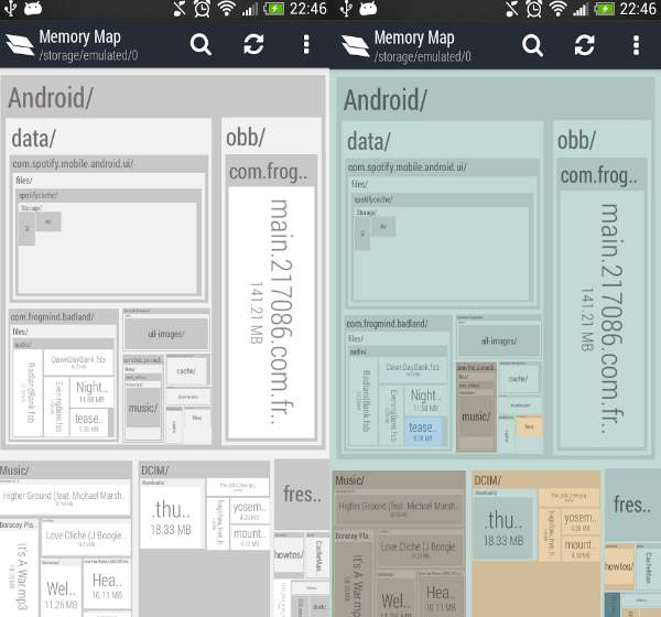 memory map android