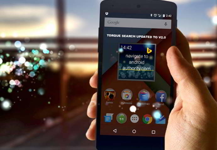 torque voice search android