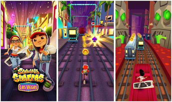 subway surfers las vegas android