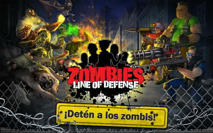 zombies line of defense android