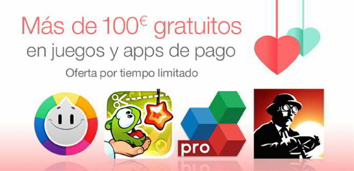 amazon oferta san valentin android