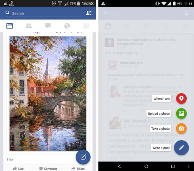 facebook material design android