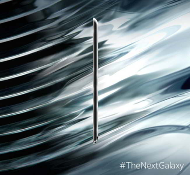 galaxy s6 teaser diseño android