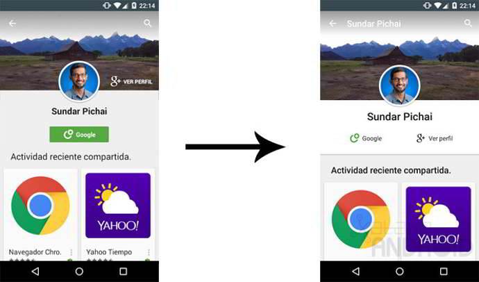 google play store v5.2 android