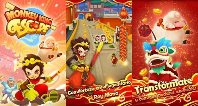 monkey king escape android