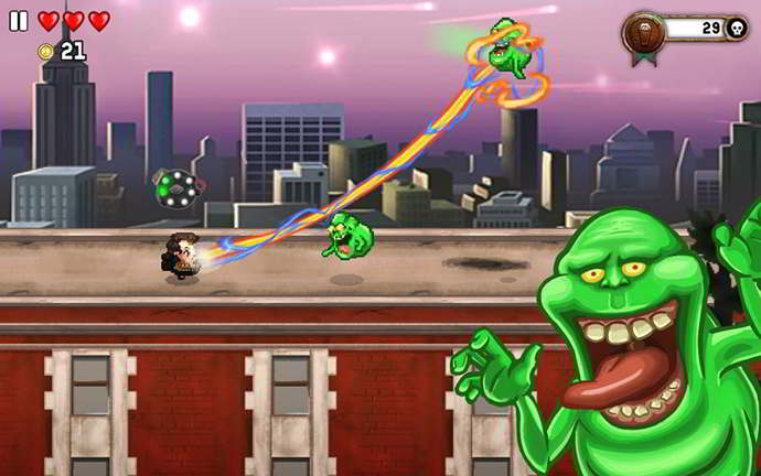 monster dash ghostbuster android