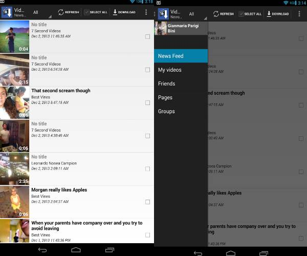 myvideodownloader for facebook android