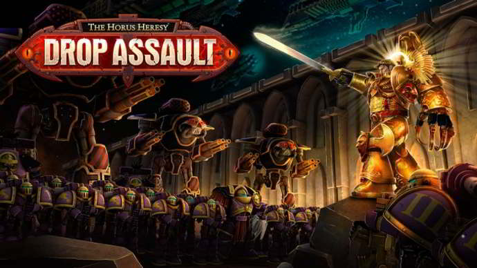 the horus heresy drop assault android